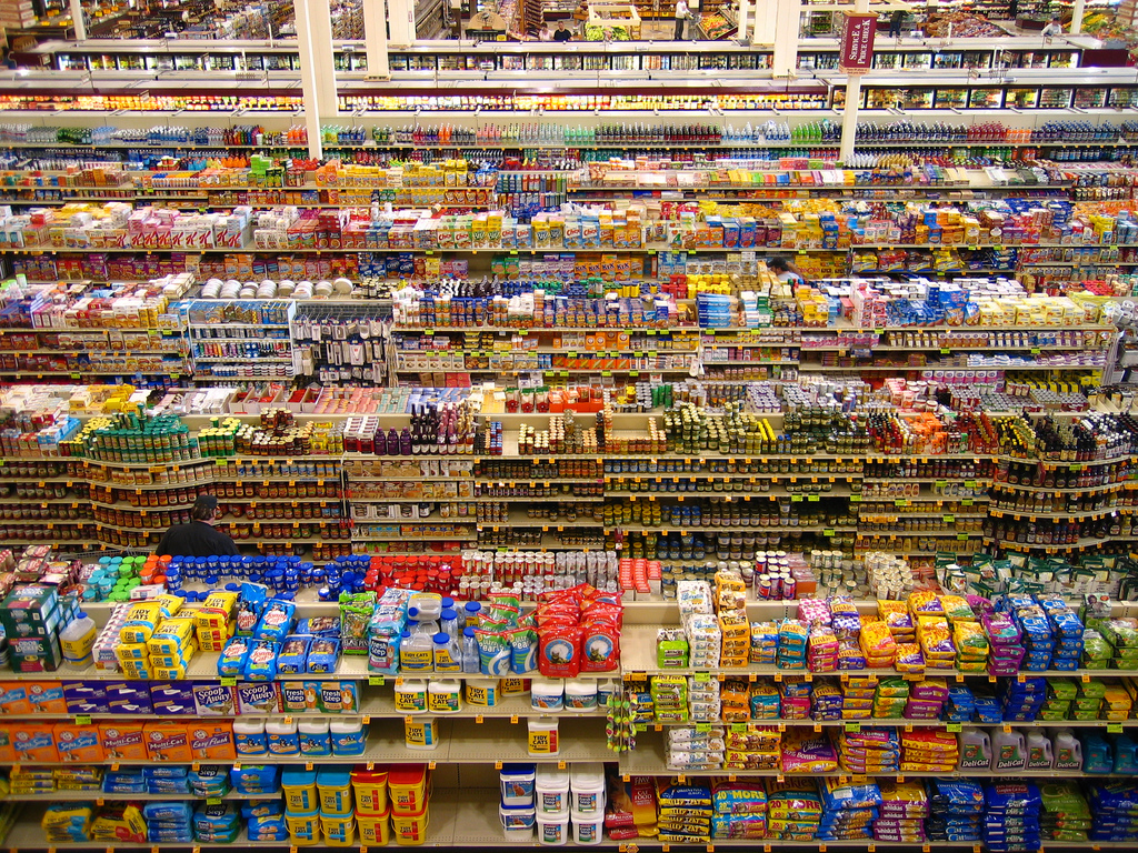 Grocery-aisles