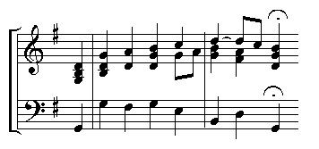 An example of keyboard style